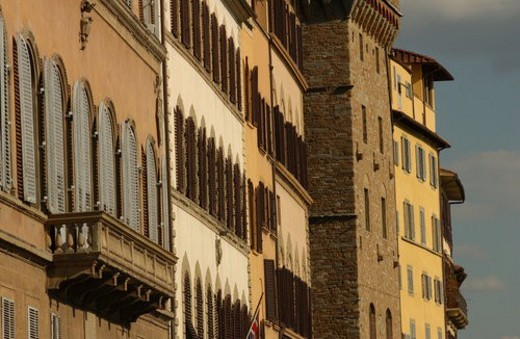 Stock Photo: 4029R-238108 Buildings of Florence, Italy