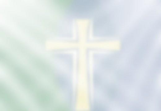 Faint Cross Background : Stock Photo