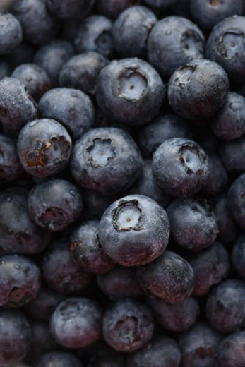 Pile of blueberries. : Stock Photo