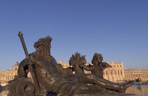 Stock Photo: 4029R-242613 Chateau de Versailles, France
