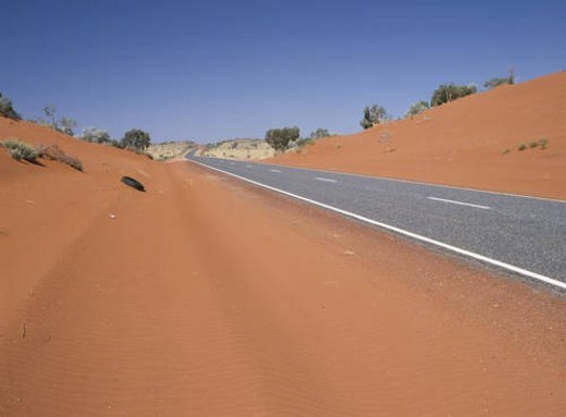 Road in the Northern Territory, Australia : Stock Photo