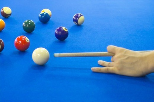 ball, sports, billiards, billiard ball, game, leisure : Stock Photo