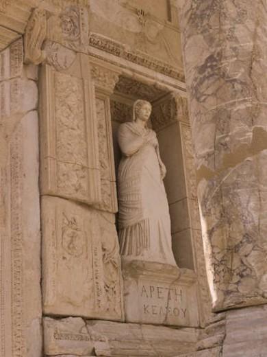 Stock Photo: 4029R-245806 Ephesus in Kusadasi Turkey