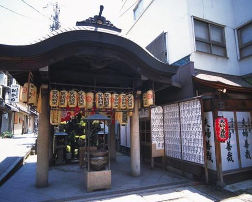 Stock Photo: 4029R-249613 Hozenji, temple