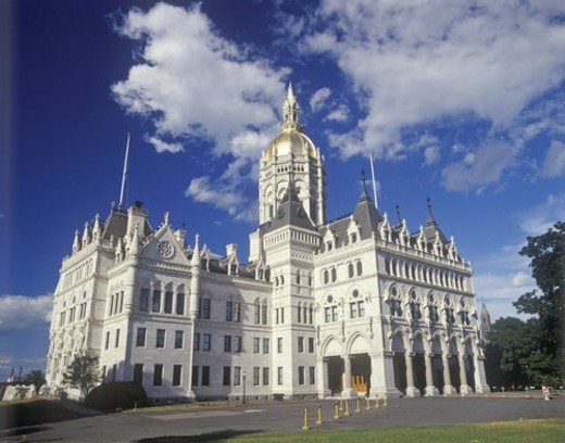 State Capitol of Connecticut, Hartford : Stock Photo