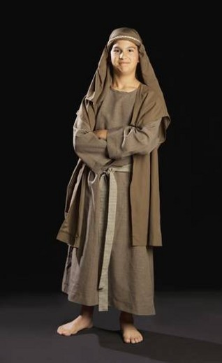 boy portraying a young jesus : Stock Photo