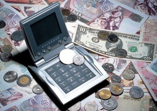 cash, indoor, coin, shadow, money, light : Stock Photo