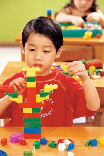 Stock Photo: 4029R-263509 learning, creativity, culture, game, toy