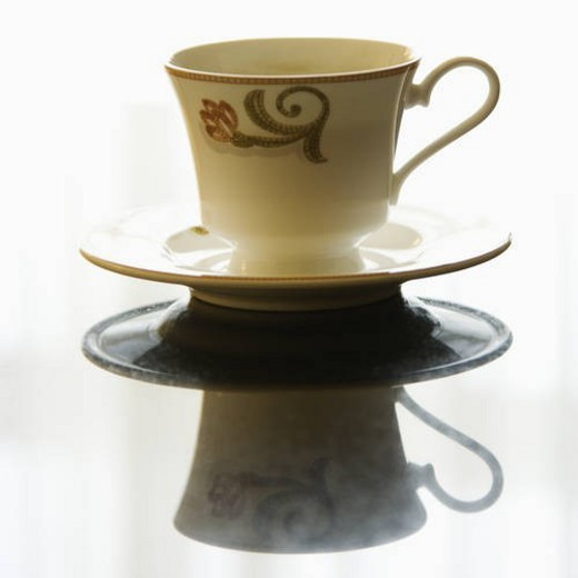 Still life of coffee cup. : Stock Photo