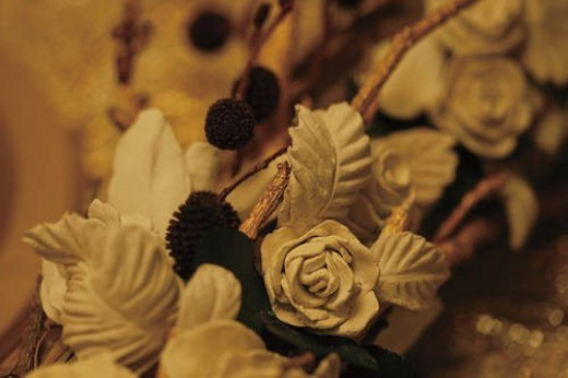 Flower decorations : Stock Photo