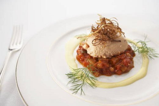 Stock Photo: 4029R-268210 Ratatouille entree