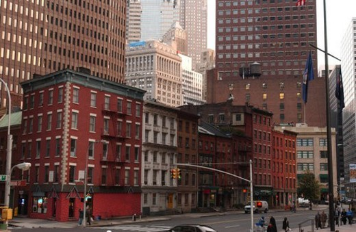 Stock Photo: 4029R-272935 Financial District, New York City