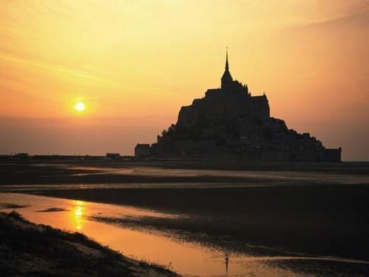 Mont St. Michel, France : Stock Photo