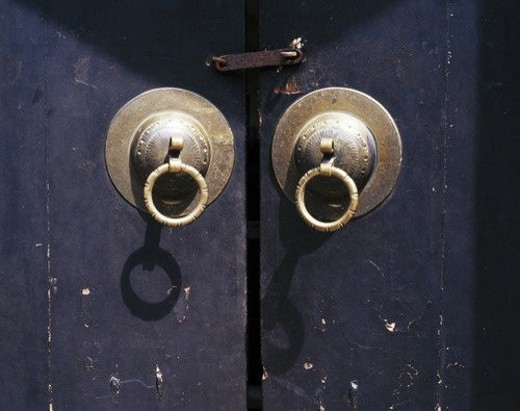 Chinese knockers : Stock Photo