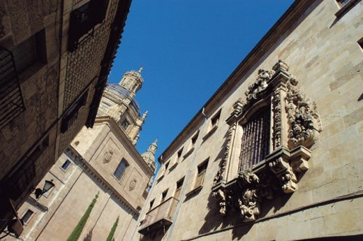 Stock Photo: 4029R-279437 Spain, Castilla Leon, Salamanca, Architecture, Tower, Bell tower, Church tower