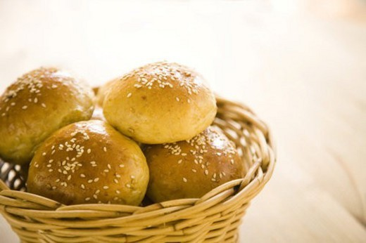 Stock Photo: 4029R-279915 bake, bakery, bread, bun, carbohydrates, collation, crust