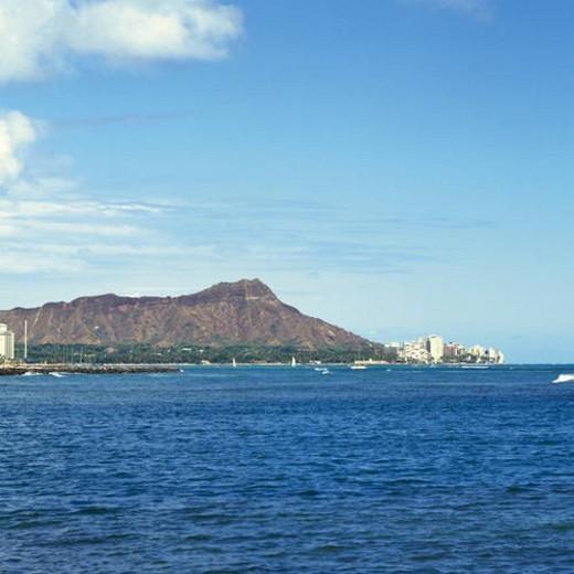 Diamond Head, Oahu, Hawaii : Stock Photo