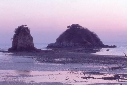 Stock Photo: 4029R-291535 nature, landscape, island, ocean, sea, scenery
