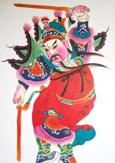 Stock Photo: 4029R-29611 Chinese New Year, Celebrations, New Year, Beard, Close-Up