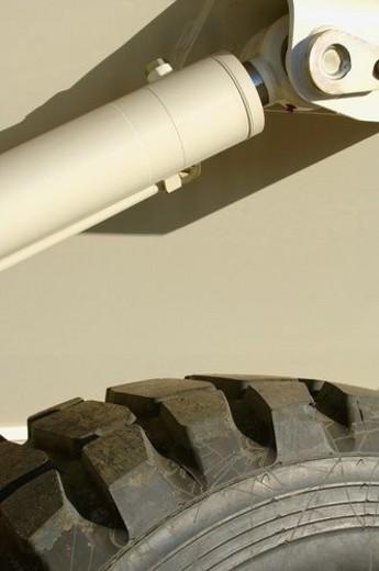Hydraulic equipment : Stock Photo