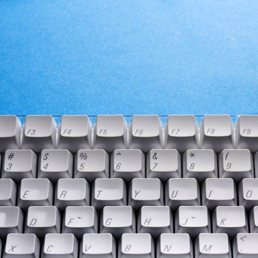 Computer Keyboard : Stock Photo