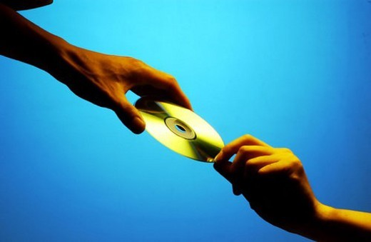 person, media, people, disc, compactdisc, CD : Stock Photo