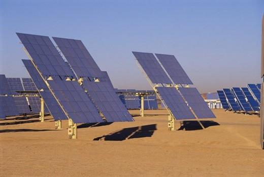 Stock Photo: 4029R-301920 Solar Panels