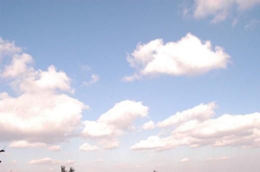 Stock Photo: 4029R-303141 scape, natural phenomena, background, view, scene, cloud