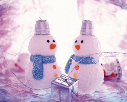 Stock Photo: 4029R-306516 Snowman