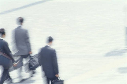 Stock Photo: 4029R-307933 Businessmen walking