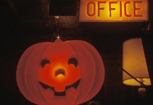 Halloween Pumpkin Lantern : Stock Photo