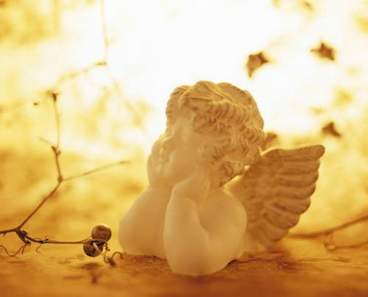 Stock Photo: 4029R-314384 Angel