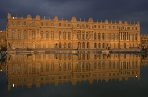 Stock Photo: 4029R-315022 Chateau de Versailles, France