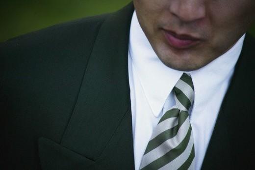 Businessman s suit : Stock Photo