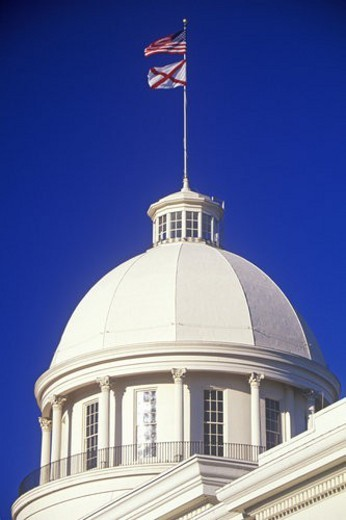 State Capitol of Alabama, Montgomery : Stock Photo