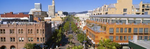 Stock Photo: 4029R-320384 Third Street Promenade