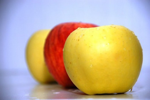 fruits, apple : Stock Photo