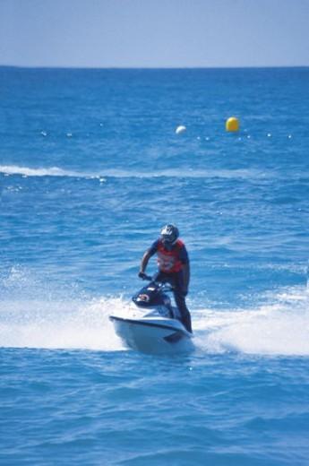 Stock Photo: 4029R-330693 Sport, Motor, Motorbike, Motorbike sport, Motorbike sports, Bike, Aquatic