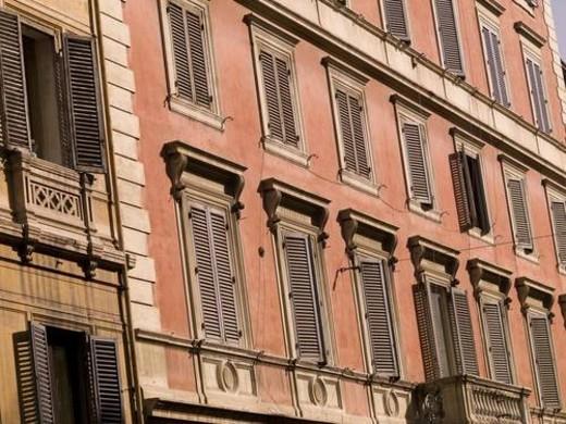 Apartments, Rome, Italy : Stock Photo