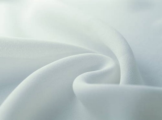 White wrinkled cloth : Stock Photo
