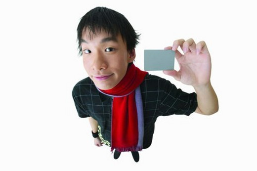 Close-Up, Rectangle, Asian Ethnicity, Standing, Facial Expression : Stock Photo