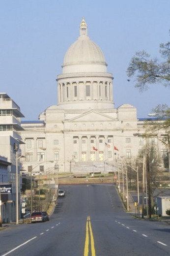 State Capitol of Arkansas, Little Rock : Stock Photo