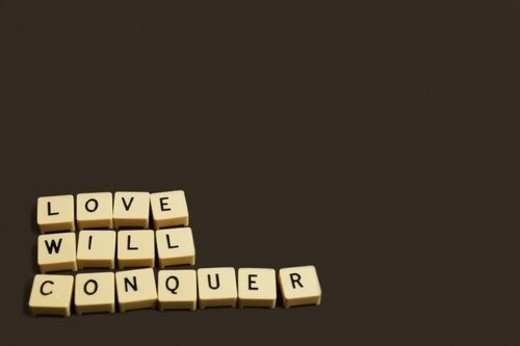 Love will conquer : Stock Photo