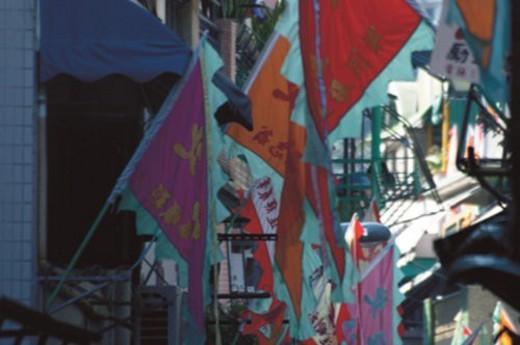 Cheung Chau Bun Festival : Stock Photo