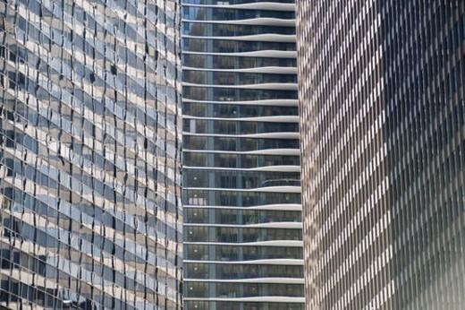 Stock Photo: 4029R-347158 Chicago, Aqua Building