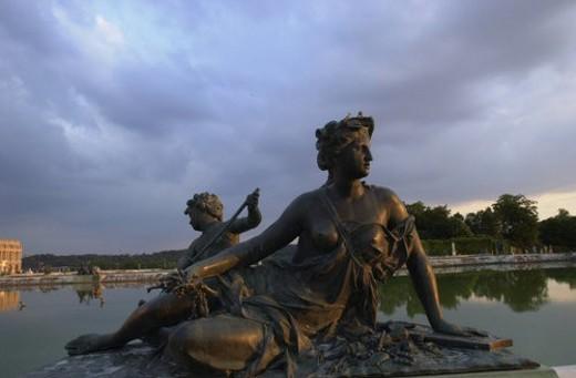 Stock Photo: 4029R-347363 Chateau de Versailles, France