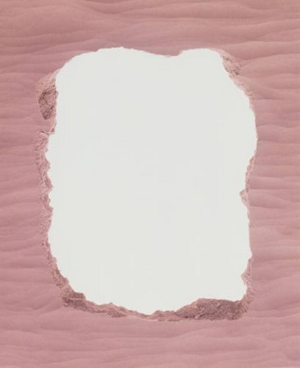 Stock Photo: 4029R-349408 Pink textured painted frame