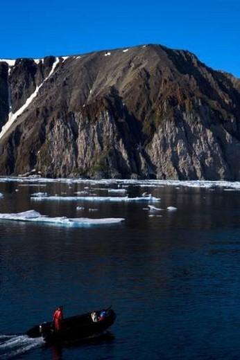 Devon Island, Nunavut, Canada : Stock Photo