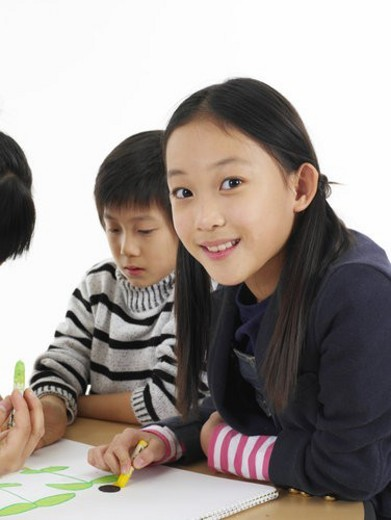 Asian, children, Asians, kids, kid, child, Child : Stock Photo