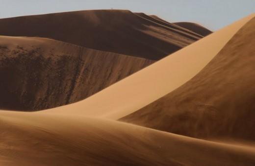 Stock Photo: 4029R-353335 Sand Dunes of Sossusvlei - Namib desert, Namibia